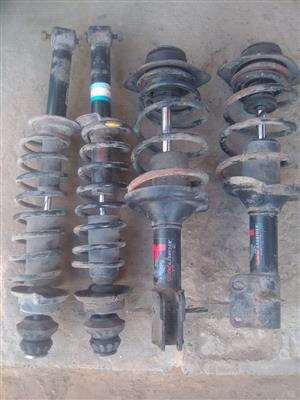 Original springs and shocks