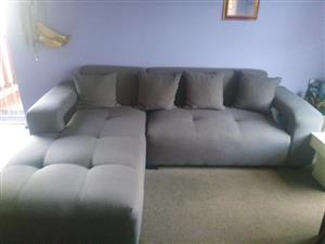 L- shape Couch for sale.