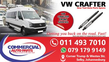 Front Shocks For VW Crafter For Sale.