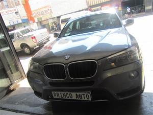 2012 BMW X3 xDRIVE 20d (G01)