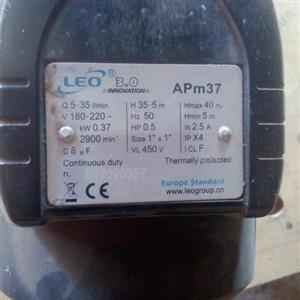 Leo preasue pump