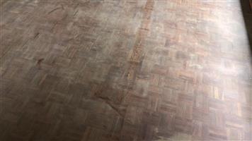Hout blokkies vloere/parquet flooring