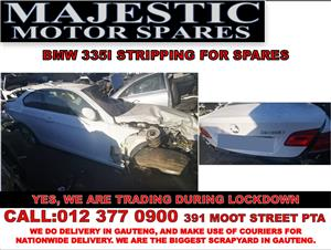 Bmw 335i used spares for sale at Majestic motor spares