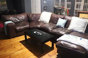 Coricraft  Buffalo Leather Couch