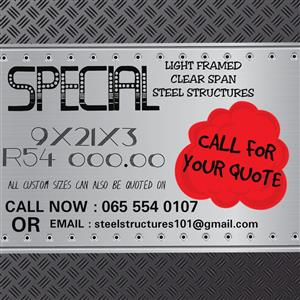 Steel Structure SPECIAL!!