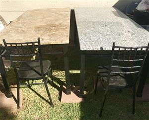 10 Seater Patio Suites for Sale (chairs included)