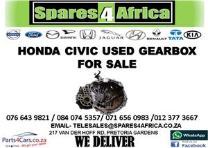 HONDA CIVIC USED GEARBOX FOR SALE