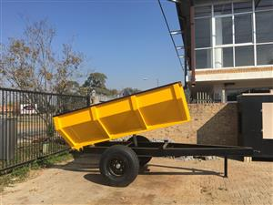 3 TON DRAGON TIP TRAILERS ON SPECIAL R 59300.00 EXCL VAT