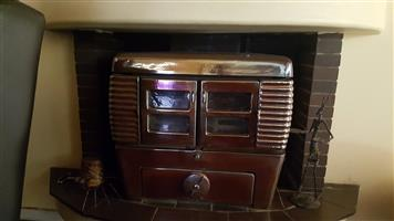 Art Deco Anthracite fireplace