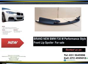 BMW F30 Brand New Plastic M-Performance Style Front Lip Spoiler for sale Price:R2500