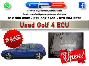 VW Golf 4 ECU Used Part for Sale