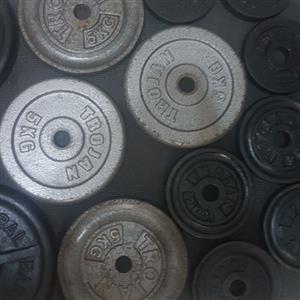 70kg Gym Weights