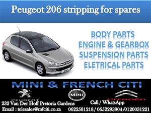 BIG PROMOTION ON PEUGEOT 206/206cc  PARTS