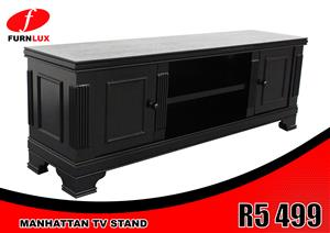 TV STAND BRAND NEW !!!!! TV STAND MANHATTAN FOR ONLY R5 499