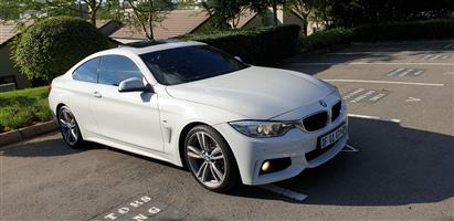 2014 BMW 4 Series 420i coupe M Sport sports auto