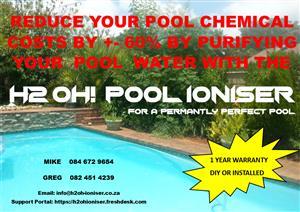 H2 Oh! Pool Ioniser