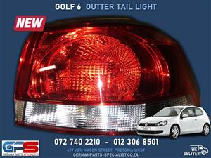 Volkswagen Golf 6 Outer Tail Light