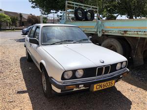 1985 BMW 3 Series sedan