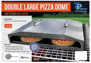 BRAND NEW!!!! PERFECT FOR CAMPING AND HOME USE. Single and Double Pizza Domes