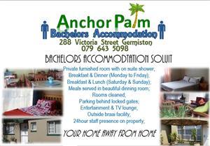 Bachelors Accommodation  Germiston Board and Lodge