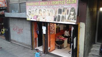 CALVARY HAIR BEAUTY AND COSMETICS SALON FOR SALE