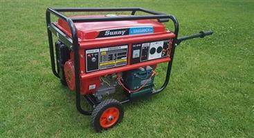 Nuwe 7.5kva petrol generator