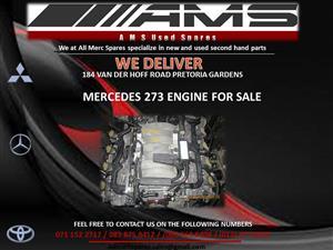 MERCEDES 273 ENGINE