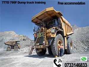 Workshop courses Trade test Mining short courses 777 dump truck RDO drill rig LHD welding plumbing taung