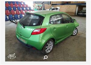 MAZDA2 2009 CODE2 STRIPPING FOR SPARES @JJS