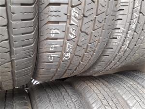 265 60 18 Tyre set