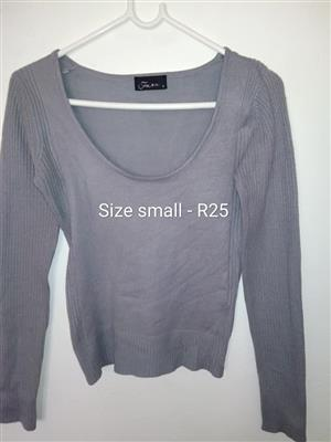 Small grey jersey for sale