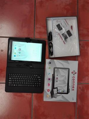 Connex tablet with keyboard cover