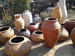 Ancient pots.