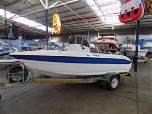 explorer 510 centre console on trailer 130 hp yamaha