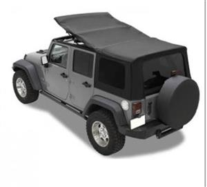 Jeep Wrangler Black Soft Top 4 door
