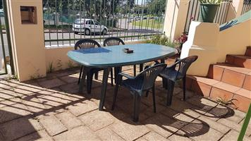 8 seater patio set