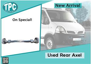 Used Rear Axel for Nissan Daily for sale at TPC