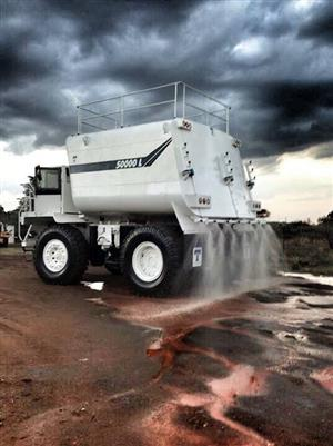 2008 Terex TR60 Rigid Water Bowser 50000l