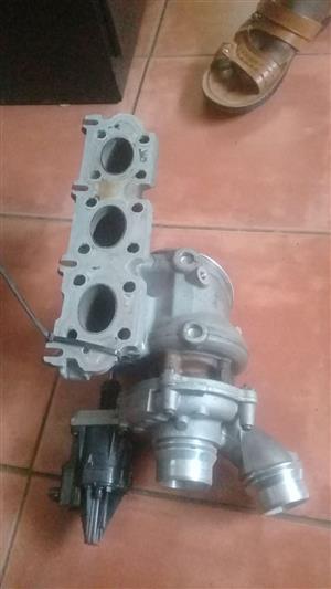 bmw f30  318i 3cylinder  b38 turbo