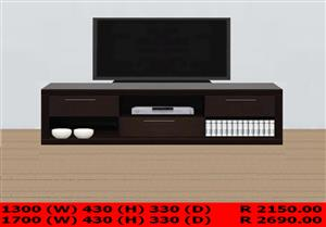 Wide variety of plasma stands, visit showroom, made to order.