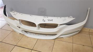 BMW F30 SPORT FRONT BUMPERS FOR SALE