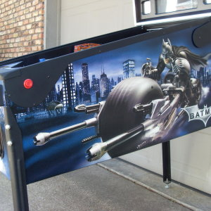 Batman , The Dark Night , a Stern pinball machine , available on order