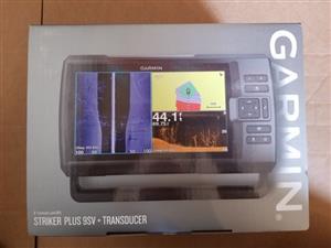 Garmin Striker Plus 9SV with transducer