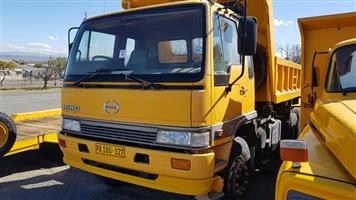 Hino Super F series Tipper truck - ON AUCTION