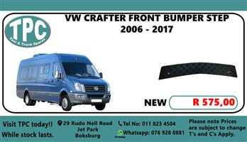 VW Crafter Front Bumper Step 2006 - 2017 - For Sale at TPC