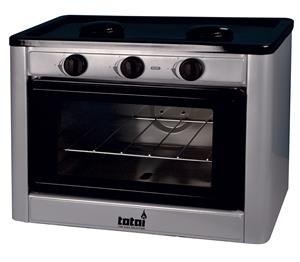 GAS 2 PLATE STOVE WITH OVEN