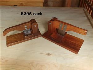 Solid Wood Biltong Slicer (R295 EACH)