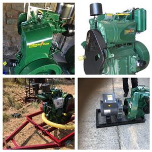 Lister Type Engines & Water Pumps & Generators