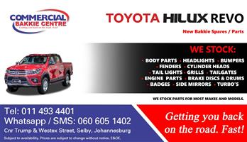 toyota hilux revo new spare parts for sale