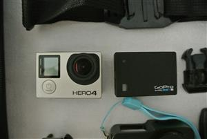 GoPro Hero 4 Black Action Camera 64GB SD